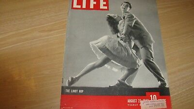 1943 Life Magazine August 23   The Lindy Hop   High Grade Lowest Price On Ebay