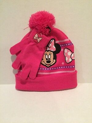 Minnie Mouse Hat And Gloves