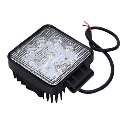 LED FLOOD Square Work Light Road 12v/24v Truck 4x4 Boat Jeep SUV Lamp (2 Pa X1S2