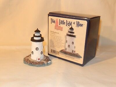 This Little Light Of Mine, Harbor LIghts, Old Saybrook, CT, Lighthouse with box