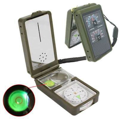 10 in 1 Multifunction Outdoor Survival Military Camping Hiking Compass Tools Kit