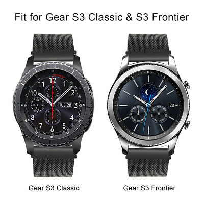 Milanese Magnetic Stainless Steel Band For Samsung Gear S3 SM-R760  S3 SM-R770