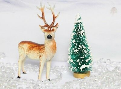 Japan Led Metal Christmas Putz Deer