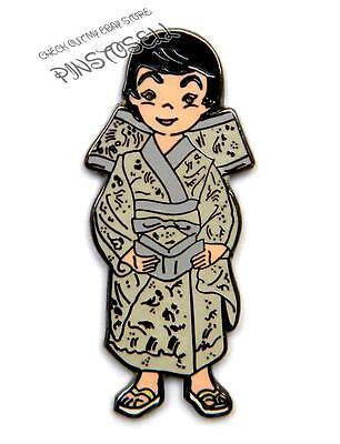 JAPANESE GIRL IT'S A SMALL WORLD DISNEY PIN from 2001 MUSICAL BOXED SET