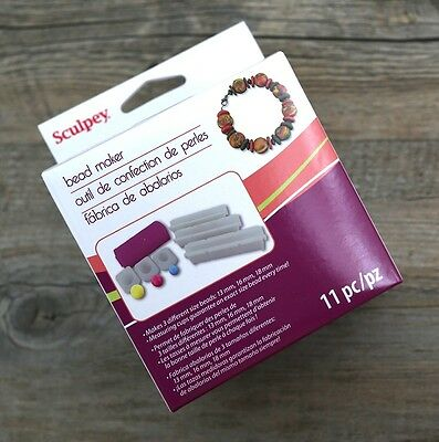 BEAD MAKER - use with Sculpey Premo & Premo Accents oven bake polymer clay