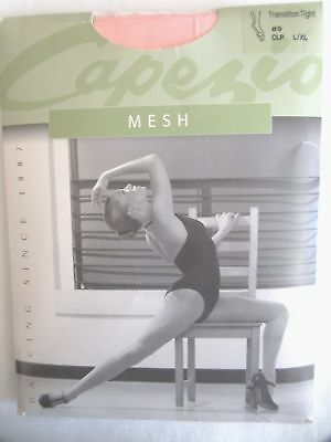 Capezio Ballet Mesh Transition Tights #9 CLP Classic Pink Seamed L XL Adult