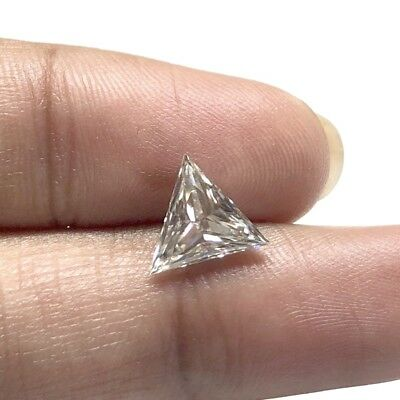 1 Piece 8.4mm Triangle Cut GH/VS2 Colorless Moissanite Diamond Loose MM140/23
