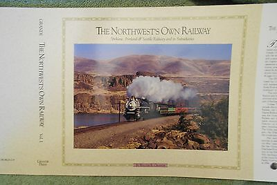 NOS Dust Jacket for Volume 1 or 2 of The Northwest's Own Railway