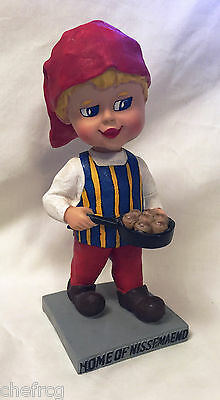 """Super Rare Holiday """"home Of Nissemaend"""" Danebob Tyler, Mn Bobblehead ~ Nm!"""