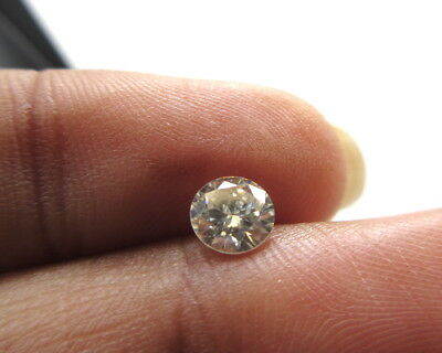 5.2mm Round Brilliant Cut GH/VS2 Colorless Moissanite Diamond Loose MM140/24