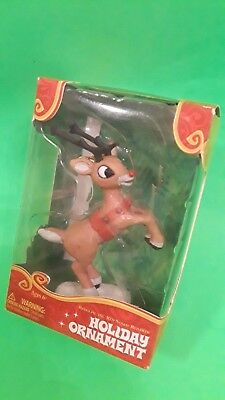 2013 Rudolph The Red Nosed Reindeer Christmas Ornament~Brand New In Box~Bid .50