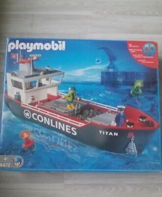 Playmobil 4472 grosses Container Frachtschiff  OVP