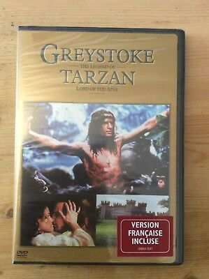"Greystoke: The Legend of Tarzan, Lord of the Apes, 1984 (DVD, Widescreen) ""New"""