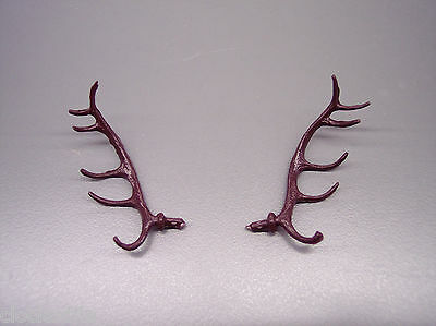 "1.5"" NEW CUCKOO CLOCK DEER STAG ELK ANTLERS  - movements service repair parts"