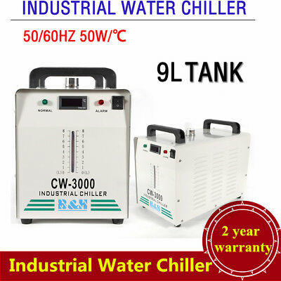 110V Industrial Water Chiller CW-3000 for Engraver 60W /80W CO2 Laser Glass Tube
