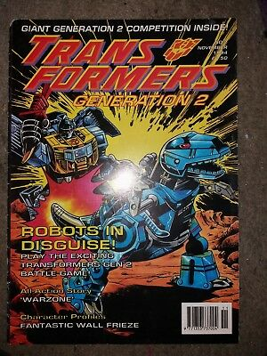 Transformers Generation 2 Issue 2