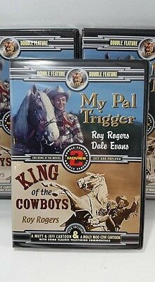 My Pal Trigger / King Of The Cowboys Roy Rogers Dale Evans New Dvd Bundle Best $
