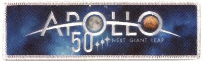 Apollo Program  50Th Anniversary Patch