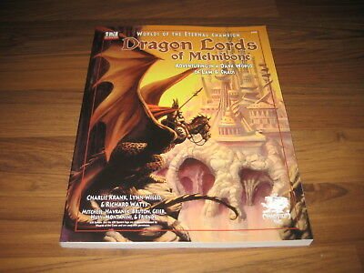 Dragon Lords Of Melnibone d20 Campaign Setting Chaosium Inc. 2001 Elric Neu New