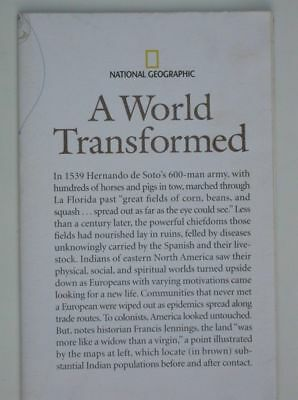 National Geographic Map 2007 March:  A World Transformed