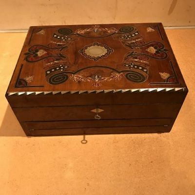 Rare Scottish writing and jewels box