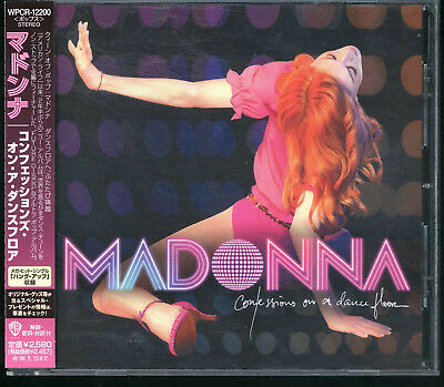 MADONNA-Confessions On A Dance Floor 12tracks Japan CD with OBI