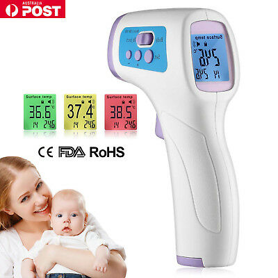 Digital Forehead Infrared Non-Contact Medical Thermometer Baby Adult Body Care
