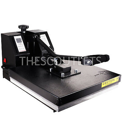 Industrial Digital Transfer Heat Press Machine 15x15 for T Shirts Sublimation
