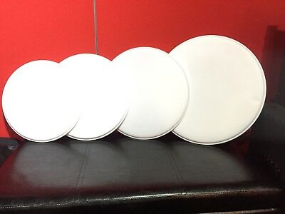 """Set Of Drum Kit Heads, 12"""" 13"""" 14"""" 16"""" Coated Drum Skins (Toms And Snare)"""