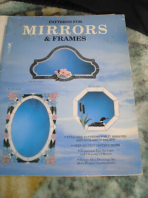 Patterns For Mirrors & Frames  Wardell Publication 1988
