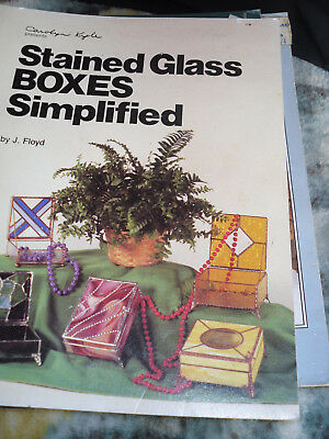 Stained Glass Boxes simplifed :: J Floyd  1987