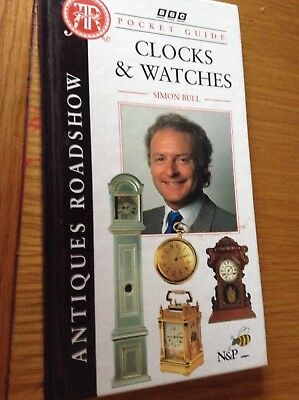 Antique roadshow pocket guide to clocks & watches brand new book
