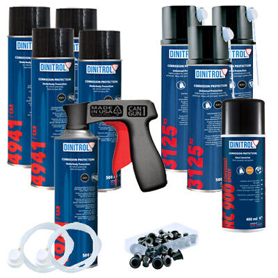 Dinitrol High Solids Rustproofing Aerosols Kit - Small