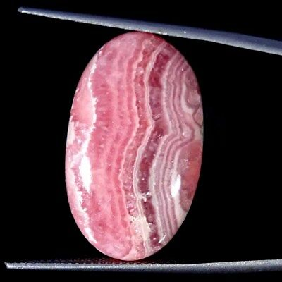 25.10Cts 100% Natural Rhodochrosite Oval Cabochon Loose Gemstone