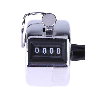 Portable Digital Hand Tally Counter 4 Digit Number Manual Counting Golf Clicker