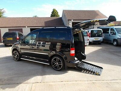 Wheelchair Accessible Wav Disabled  2011 Volkswagon Caddy Auto Drive From W/c