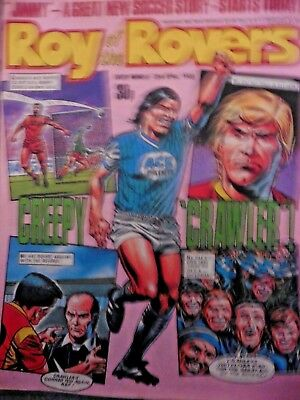Roy Of The Rovers Comic 23/4/1988 Vintage Rare Vgc