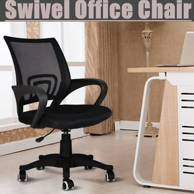 Mesh Task Chair Office Computer Desk Chair Swivel Executive Mid Back Adjustable