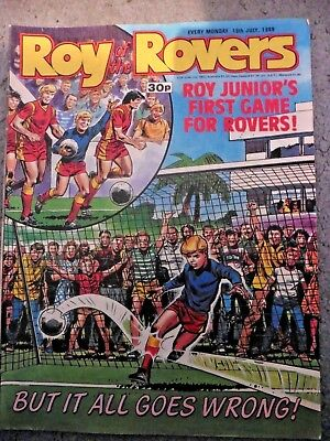 Roy Of The Rovers Comic 16/7/1988 Vintage Rare Vgc
