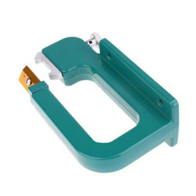 Tool Leather Splitter Green Machine w/ 4x Rollers Aluminum Paring DIY Peeling
