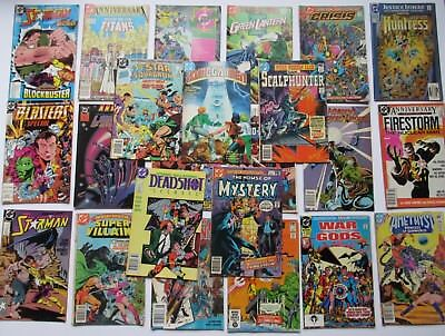 DC Comics Mixed Lot of 23 Different Books Mosty Copper Age 1977 - 1991