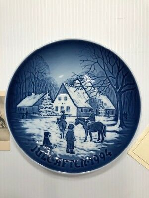BING & GRONDAHL 1994 Christmas Plate : A Day at the Deer Park