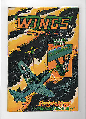Wings Comics #71 (Jul 1946, Fiction House) - Very Good