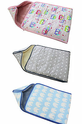 Baby Swaddle , Wrap / Sleeping Bag / Snuggle Wrap. Perfect For Gift ! Natural