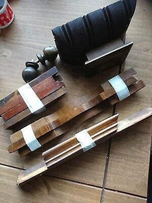Antique vienna clock Parts Spares mouldings  good items