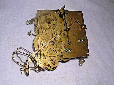 Clock  Parts Clock Movement 4 Hammers,hac , Spares