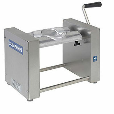 Somerset SPM-45 Turnover Empanada Pastry Machine, Manual, 3 Extra Dies Included