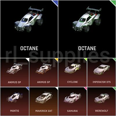 Painted Cars Rocket League Xbox One Choose Below Octane Cyclone Maverick Eur 1 68 Picclick Fr