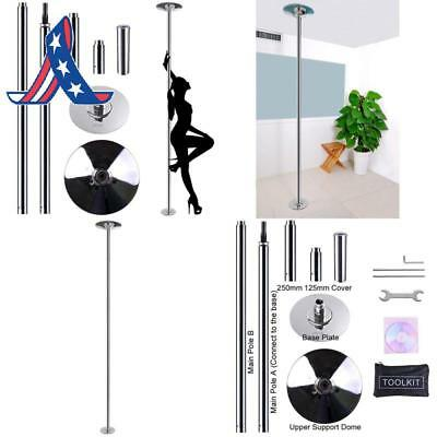 Aw 45Mm Removable Dancing Pole Kit Portable Fitness Dance Sport Exercise Club Pa