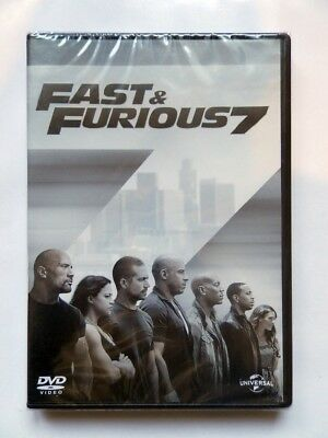 ★  FAST & FURIOUS 7  ★ Film DVD n°233 VIN DIESEL PAUL WALKER - NEUF SOUS BLISTER